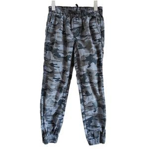 Gap Kids Camouflage Cargo Pull On Cotton Pants L